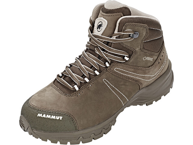 where to buy size 40 outlet online Mammut Nova III Mid GTX Shoes Women bark-white at Addnature.co.uk